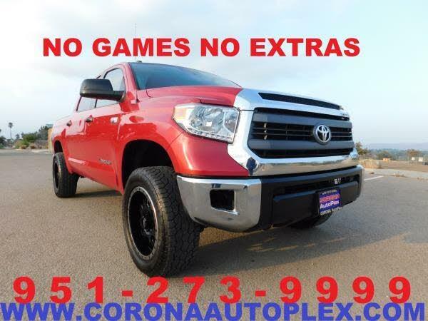 2014 Toyota Tundra SR5 CrewMax 5.7L FFV 4WD