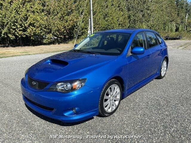 2008 Subaru Impreza WRX Premium Hatchback