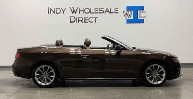 2014 Audi A5 2.0T quattro Prestige Cabriolet AWD