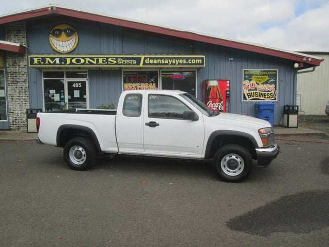 2008 Chevrolet Colorado Work Truck Extended Cab 4WD