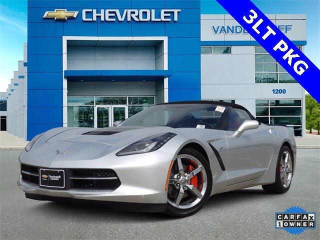 2014 Chevrolet Corvette Stingray 3LT Convertible RWD