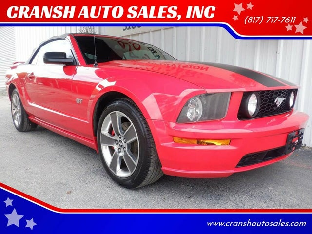 2008 Ford Mustang GT Deluxe Convertible RWD