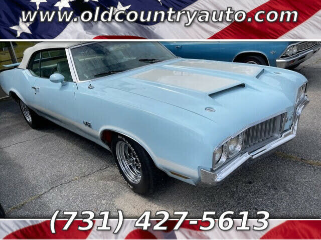 1970 Oldsmobile 442 Convertible FWD