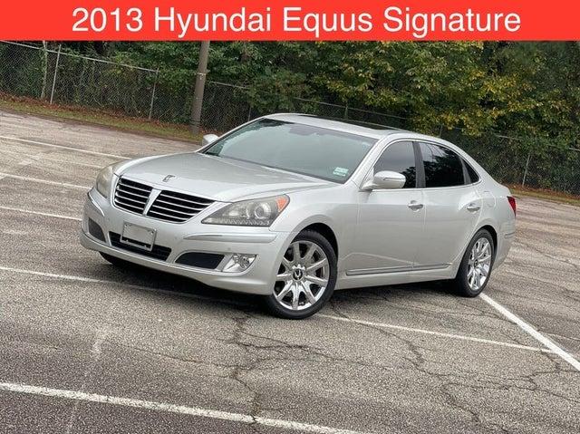2013 Hyundai Equus Signature RWD