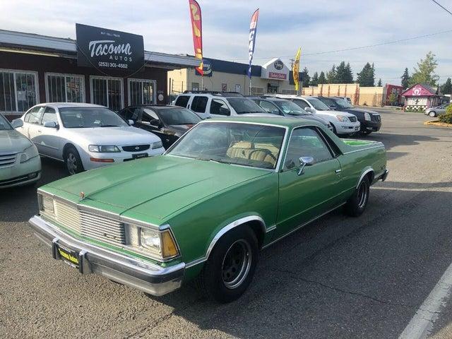 1981 Chevrolet El Camino RWD