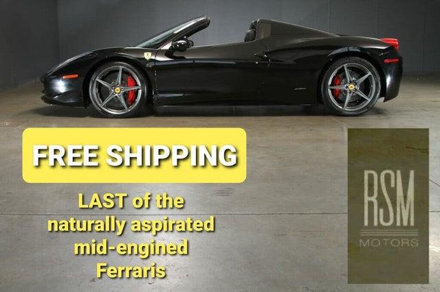 2013 Ferrari 458 Italia Spider RWD