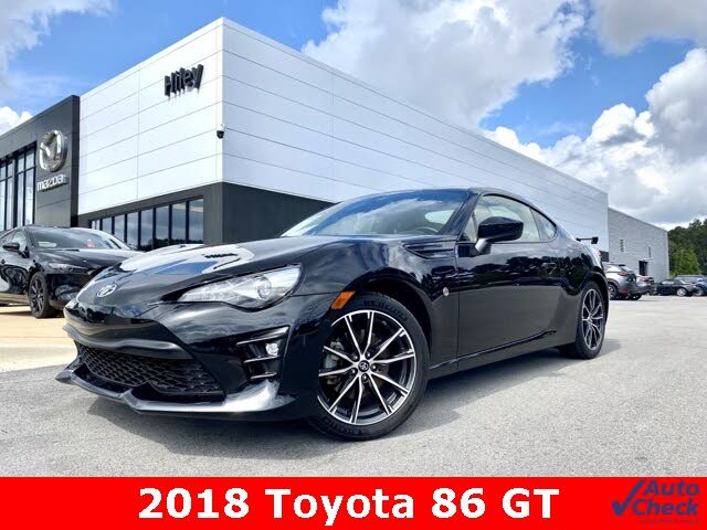 2018 Toyota 86 GT RWD with Black Color Pack