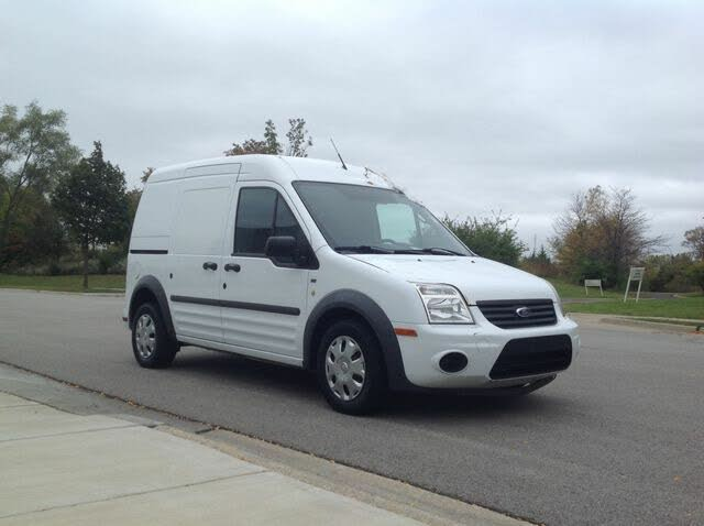 2012 Ford Transit Connect Cargo XLT FWD with Rear Glass