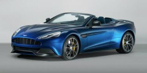 2015 Aston Martin Vanquish Volante Convertible RWD