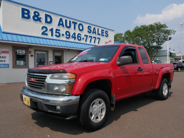 2007 GMC Canyon 2 Dr SLE1 Extended Cab 4WD