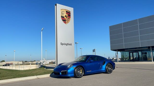 2015 Porsche 911 Turbo S Coupe AWD
