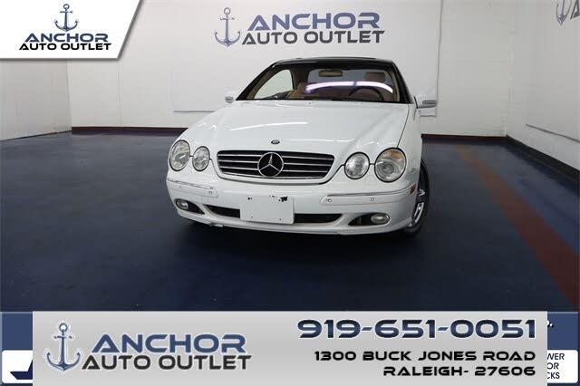 2001 Mercedes-Benz CL-Class CL 500 Coupe