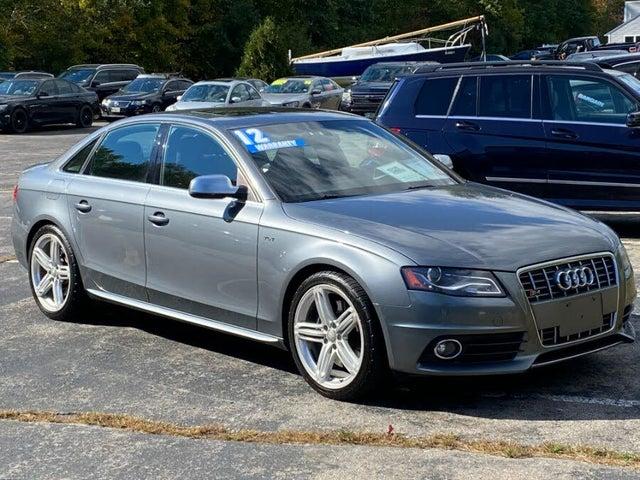 2012 Audi S4 3.0T quattro Premium Plus Sedan AWD