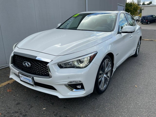 2018 INFINITI Q50 Hybrid Luxe RWD
