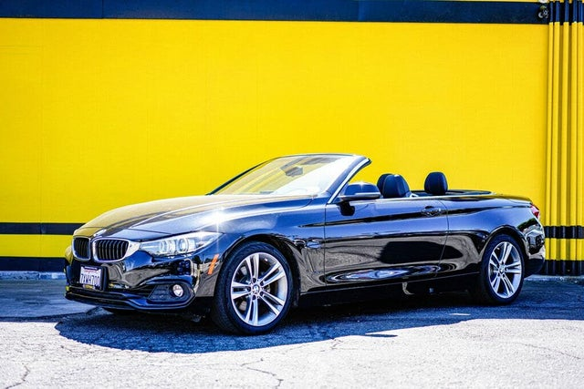 2018 BMW 4 Series 430i Convertible RWD