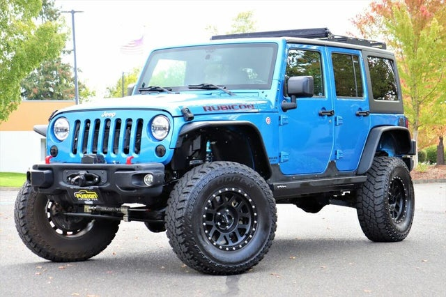 2016 Jeep Wrangler Unlimited Rubicon Hard Rock 4WD