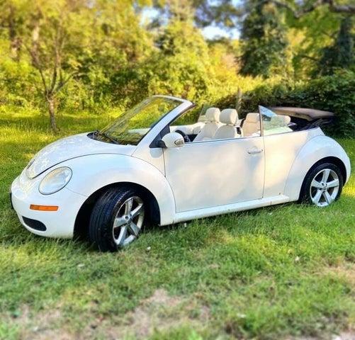 2007 Volkswagen Beetle Triple White Convertible