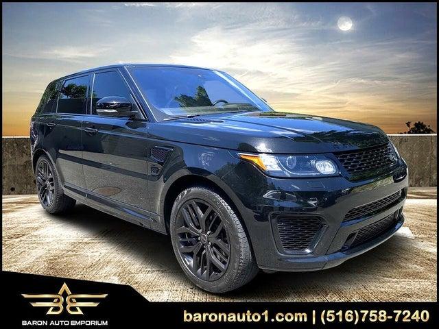 2016 Land Rover Range Rover Sport V8 SVR 4WD