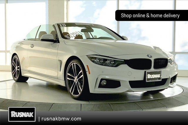 2019 BMW 4 Series 440i Convertible RWD