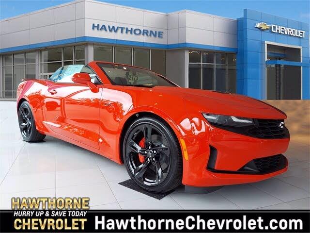 2021 Chevrolet Camaro LT1 Convertible RWD