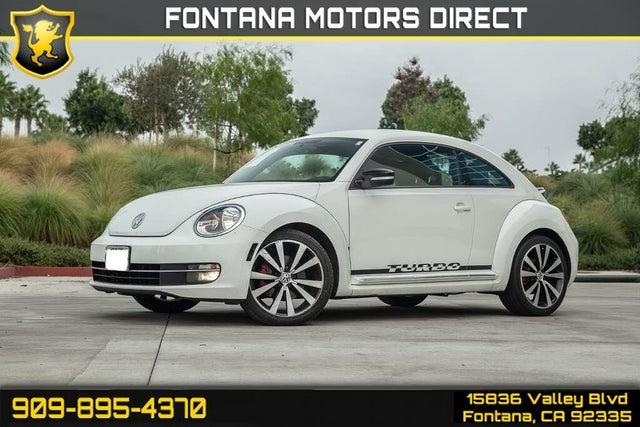 2012 Volkswagen Beetle Black Turbo