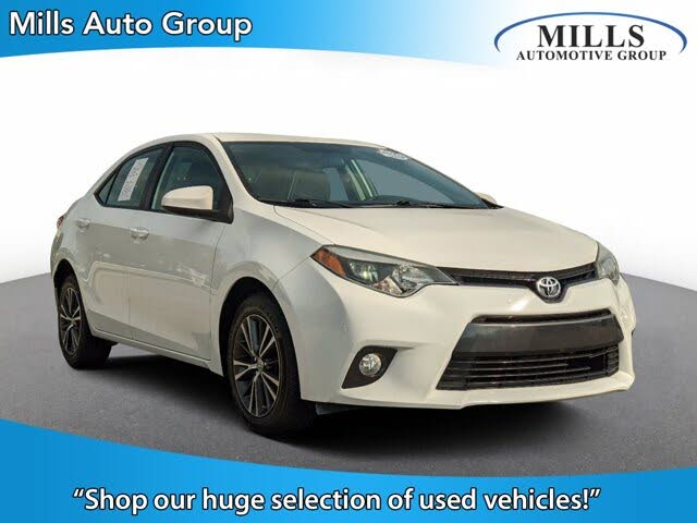 2016 Toyota Corolla Special Edition Package