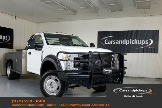 2017 Ford F-550 Super Duty Chassis DRW 4WD