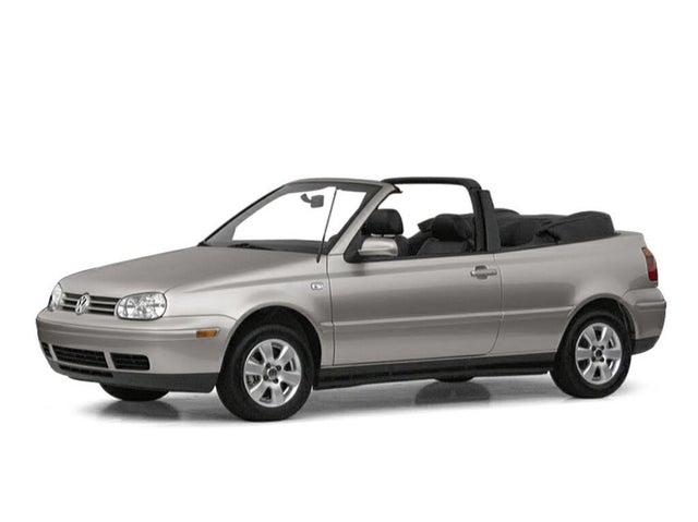 2001 Volkswagen Cabrio 2 Dr GLS Convertible