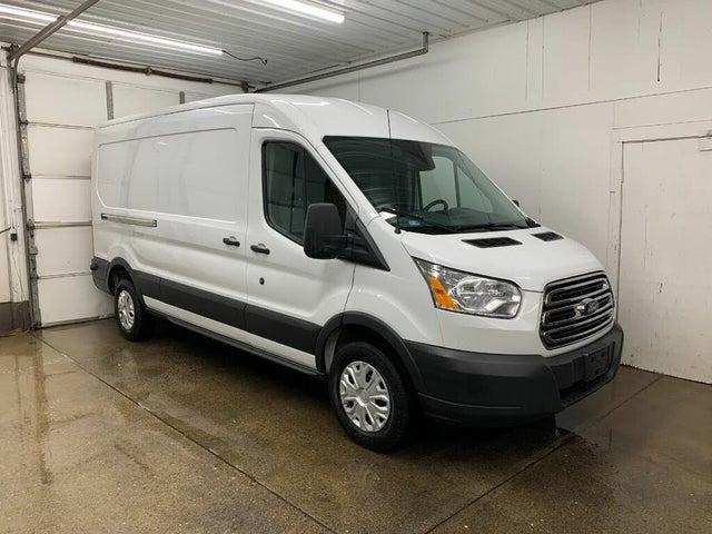 2017 Ford Transit Cargo 350 3dr LWB Medium Roof Cargo Van with Sliding Passenger Side Door