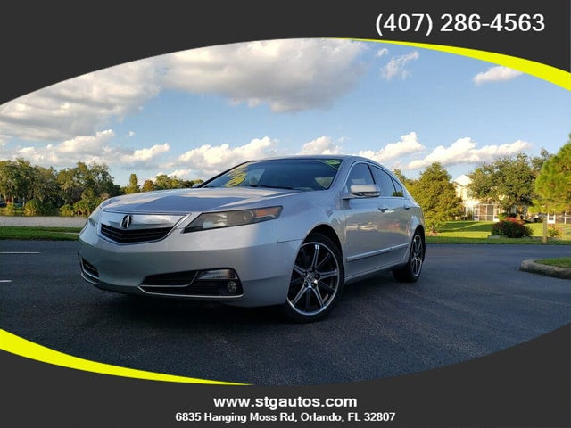 2013 Acura TL FWD with Technology Package