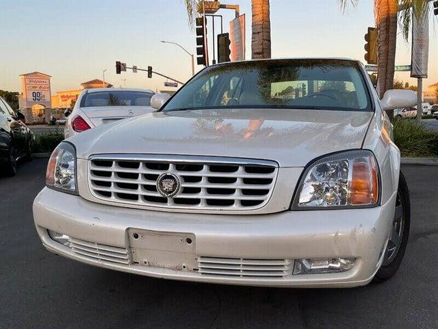 2000 Cadillac DeVille DTS Sedan FWD