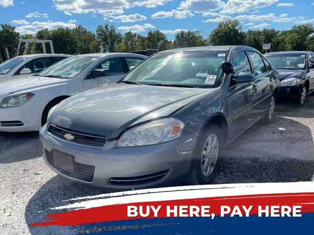 2008 Chevrolet Impala Unmarked Police FWD