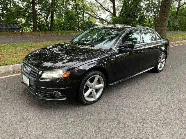 2012 Audi A4 2.0T quattro Premium Plus Sedan AWD
