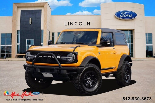2021 Ford Bronco First Edition Advanced 2-Door 4WD