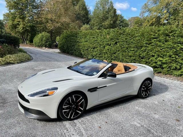 2017 Aston Martin Vanquish Volante Convertible RWD