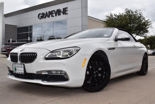 2017 BMW 6 Series 640i Convertible RWD