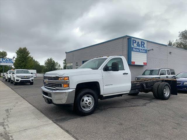 2018 Chevrolet Silverado 3500HD Work Truck Crew Cab RWD