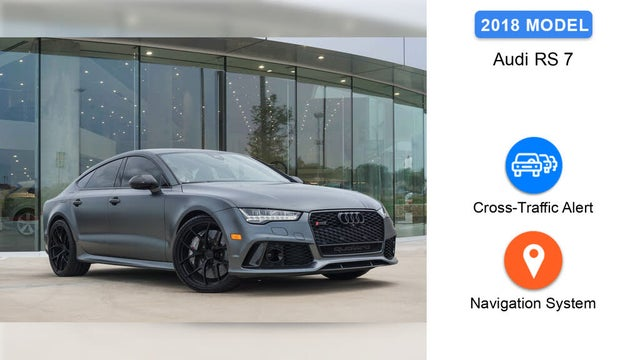 2018 Audi RS 7 4.0T quattro Performance AWD