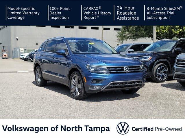 2018 Volkswagen Tiguan SEL Premium
