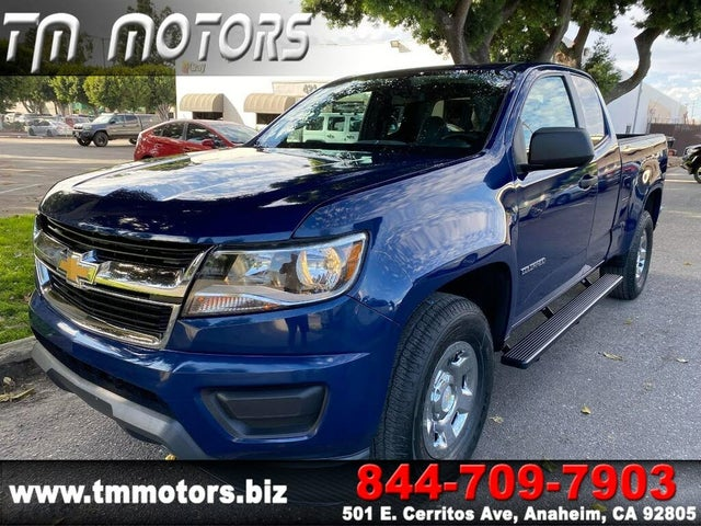 2019 Chevrolet Colorado Work Truck Extended Cab LB RWD