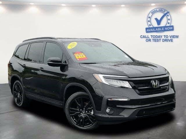 2020 Honda Pilot Black Edition AWD