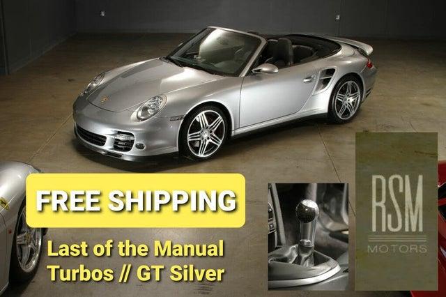 2008 Porsche 911 Turbo Cabriolet AWD