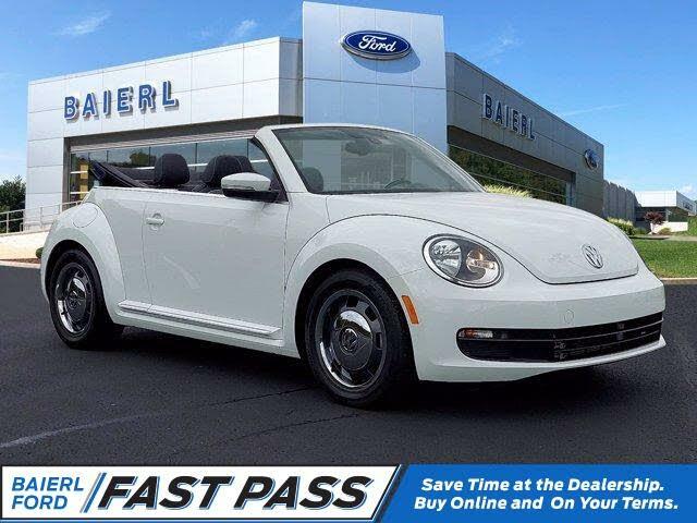 2016 Volkswagen Beetle Denim Convertible