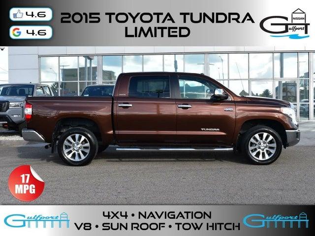 2015 Toyota Tundra Limited CrewMax 5.7L FFV 4WD