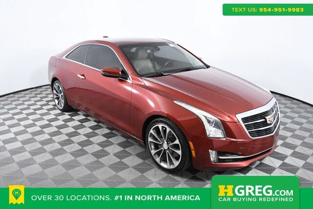2015 Cadillac ATS Coupe 2.0T Luxury RWD