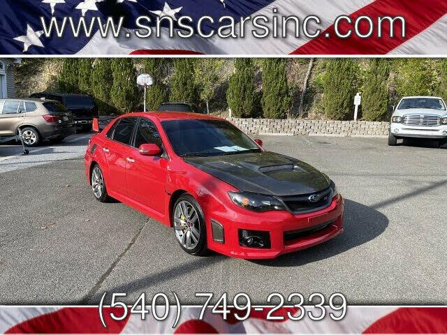 2011 Subaru Impreza WRX STI Sedan AWD