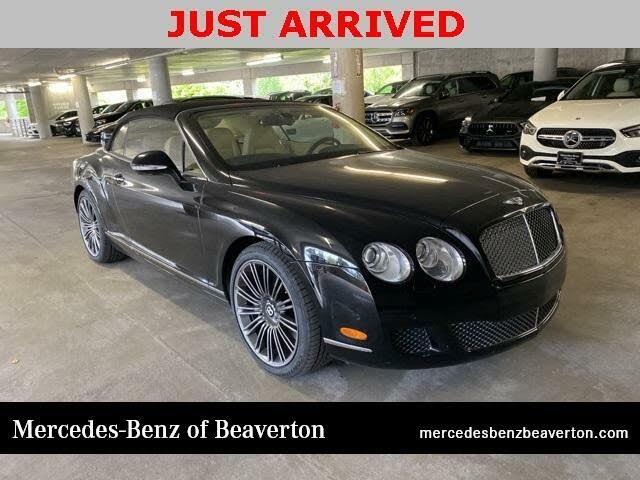 2010 Bentley Continental GTC Speed AWD
