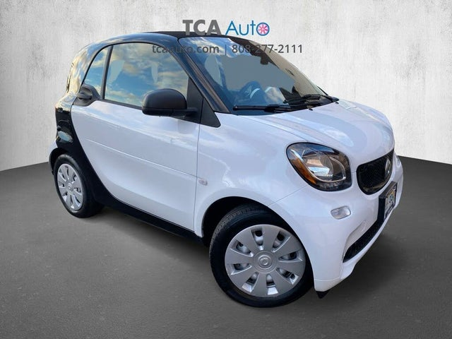 2017 smart fortwo electric drive pure hatchback RWD