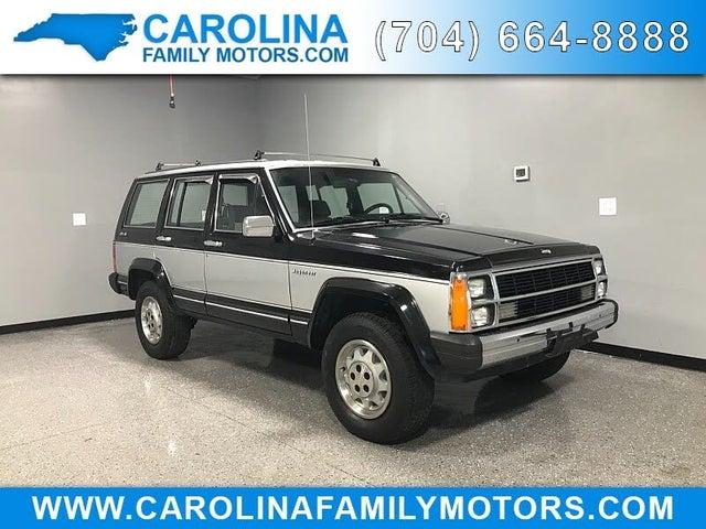 1987 Jeep Wagoneer Limited 4WD