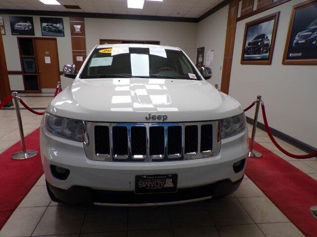 2011 Jeep Grand Cherokee Overland 4WD